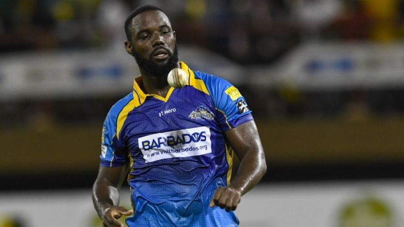 Raymon Reifer was extensively used as a death bowler for the Barbados Tridents in the 2019 CPL