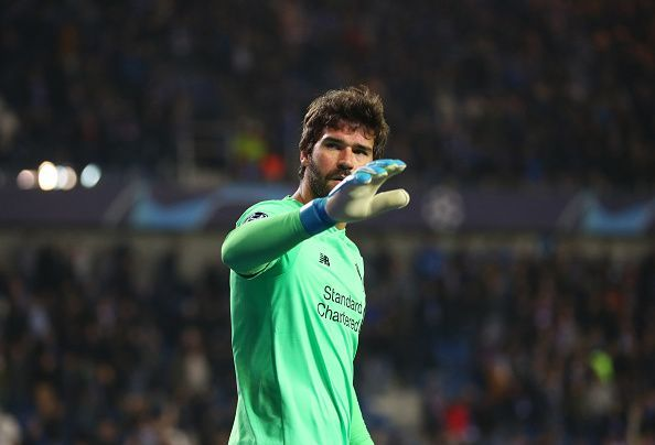 Alisson Becker is one of 3 goalkeepers nominated for the 2019 Ballon d