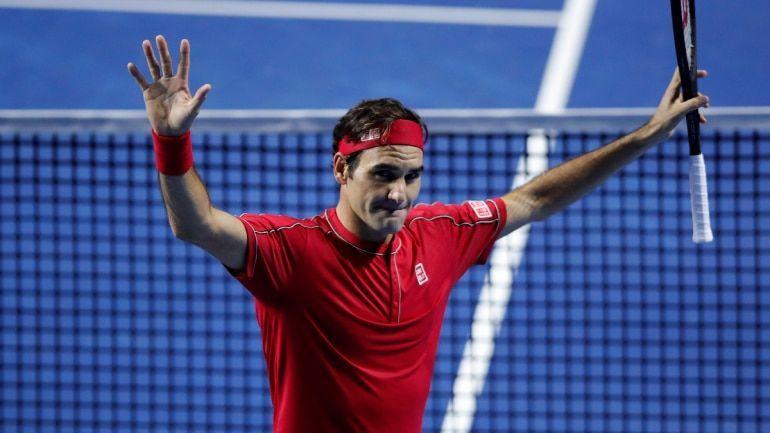 Federer beat Stefanos Tsitsipas in the Basel semifinals