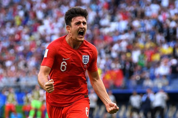 Harry Maguire became a cult hero thanks to his World Cup goal against Sweden