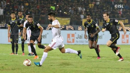 NorthEast United move to the top of the table with a 1-0 victory against FC Hyderabad