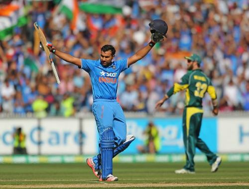 Rohit Sharma has been declared fit to play the first T20I