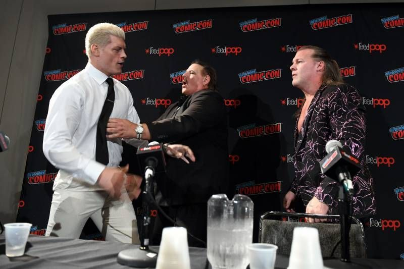 Chris Jericho and Cody Rhodes are in quite the heated rivalry in AEW