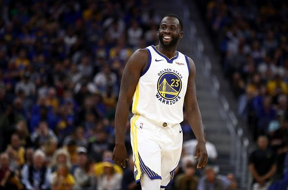Draymond Green signed a new contract with the Warriors during the offseason