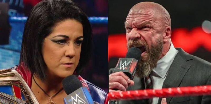 Bayley and Triple H