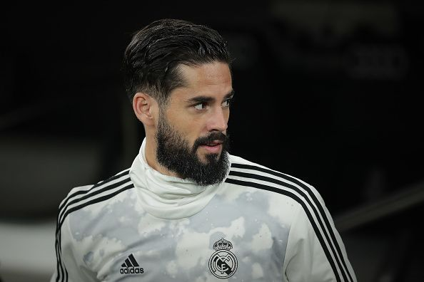 Isco could be eyeing an exit from Real Madrid.