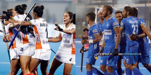 भारतीय महिला और पुरुष हॉकी टीम