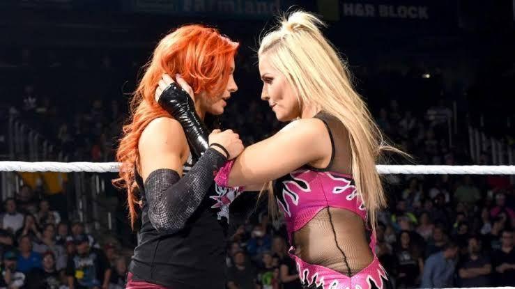 Natalya and Becky Lynch