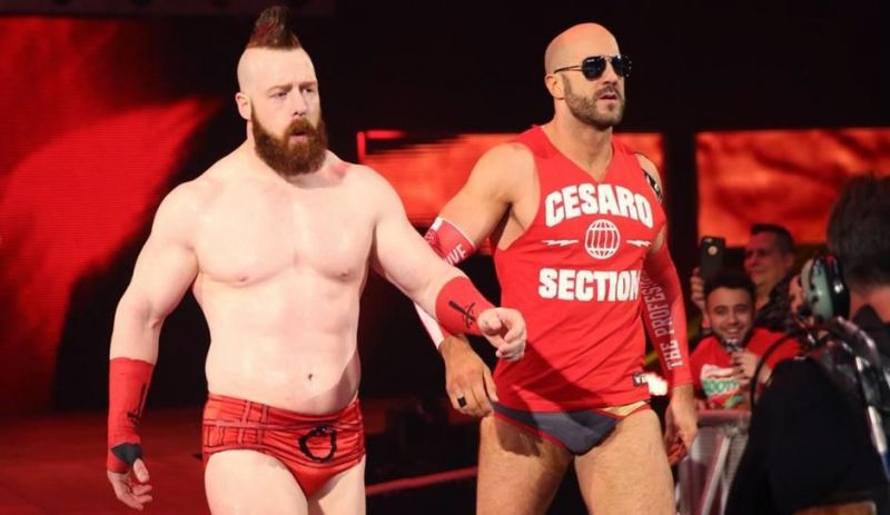 The Bar won five Tag Team titles together