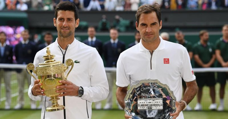Federer narrowly came up second best in a thrilling Wimbledon final for the ages