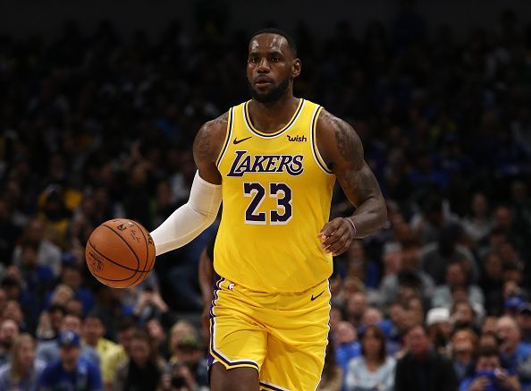 LeBron James is among the leading contenders to be named 2020 MVP