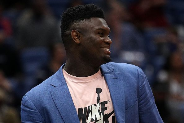 Zion Williamson is yet to make his NBA debut