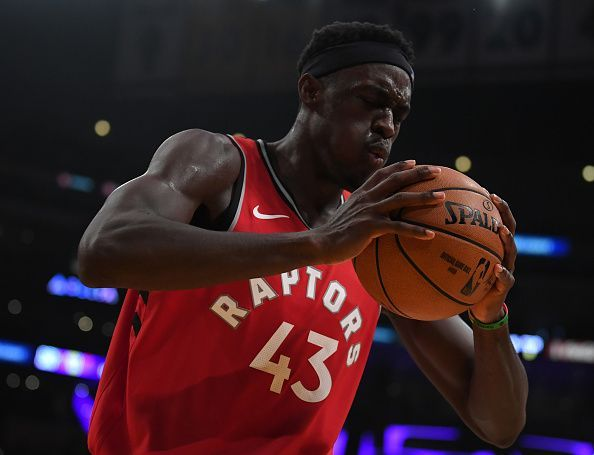 Siakam has been in great form for the defending NBA champions