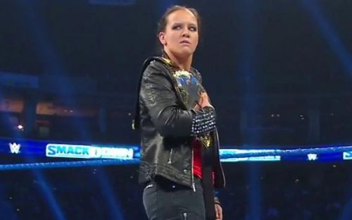 CurNXT Women's Champion Shayna Baszler invaded SmackDown this week