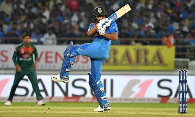 Rohit Sharma will be keen to continue his rich form