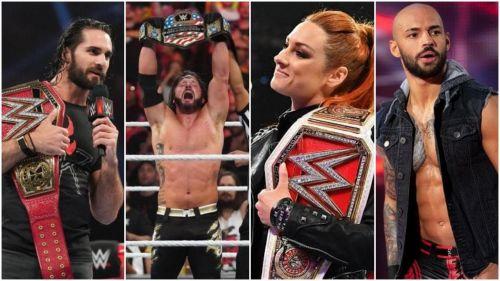 The Superstars of Monday Night RAW
