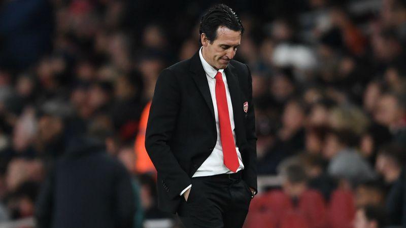 Former Arsenal boss Unai Emery