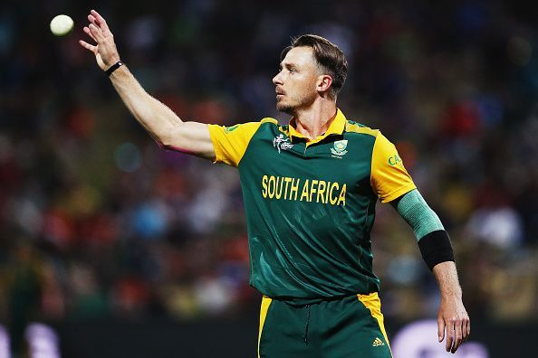 Dale Steyn with the ball in hand
