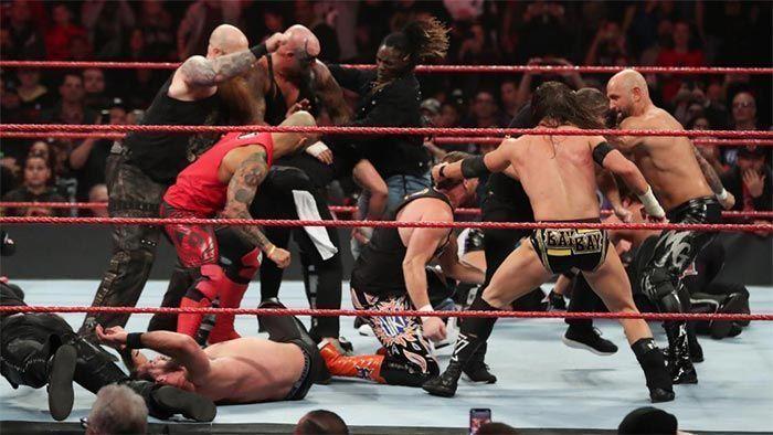 रॉ सुपरस्टार्स vs NXT सुपरस्टार्स