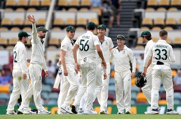 Australia notched up an easy win.