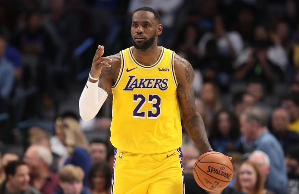 LeBron James and the Los Angeles Lakers travel to Phoenix to take on the Suns