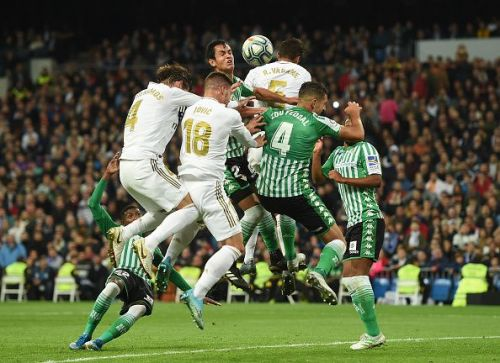 Real Madrid played a goalless stalemate with Real Betis