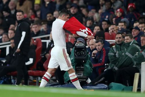 Granit Xhaka's time at Arsenal looks to be over.