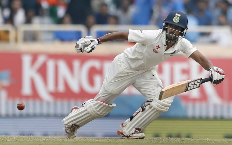 Wriddhiman Saha sustained a fracture on his right-hand finger during the Day/Night Test match