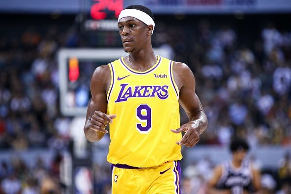 Rajon Rondo is closing in on his return from injury