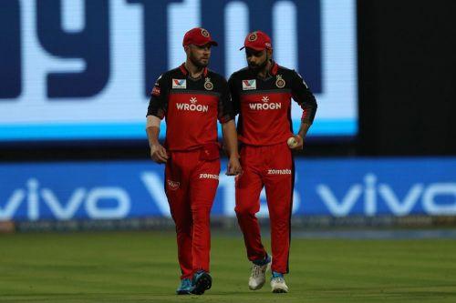 Kohli and De Villiers form the core of RCB batting ( Image courtesy: BCCI/iplt20.com)