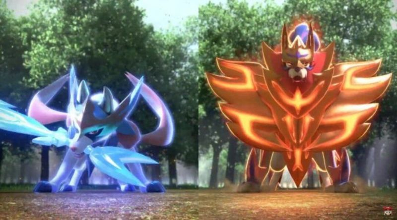 Image result for zacian and zamazenta forms