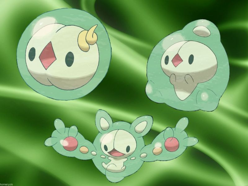Solosis, Duosion and Reuniclus.