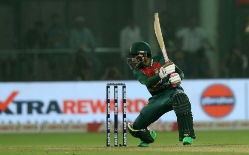 Mushfiqur Rahim's scorching drive off the penultimate ball was one of the best shots of the match