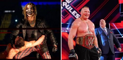Brock and The Fiend