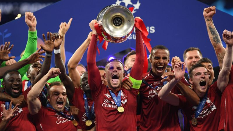 Liverpool are the defending champions