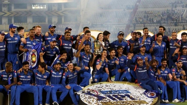 Mumbai Indians were crowned champions for the fourth time in the IPL history in 2019.