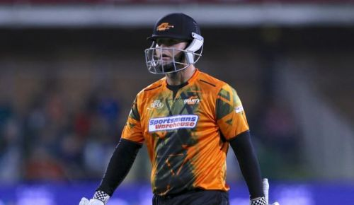 JJ Smuts produced a fine innings for the Nelson Mandela Bay Giants