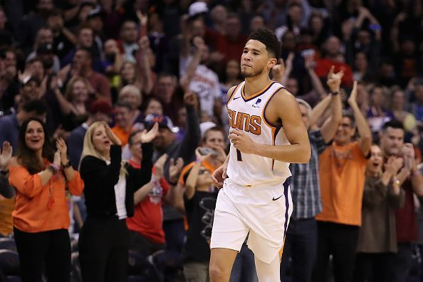 Devin Booker will lead the Phoenix offense