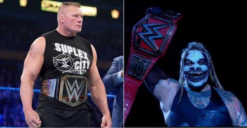 Brock Lesnar and Bray Wyatt