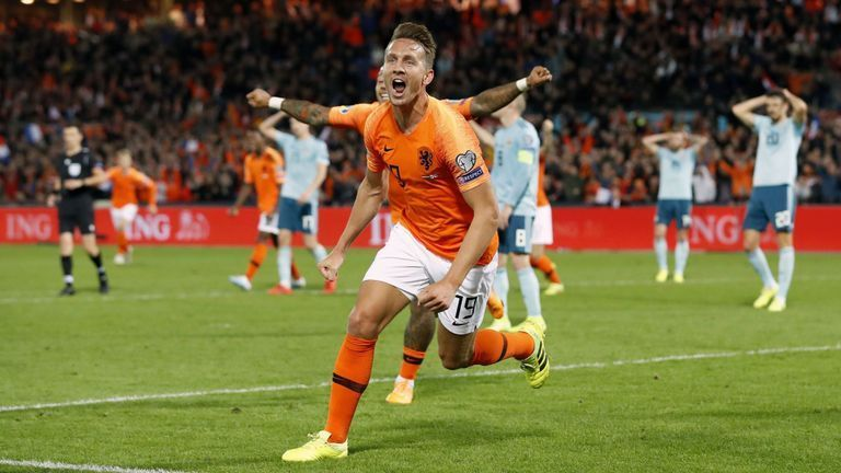 Netherlands ran riot in their last meeting with Northern Ireland last month