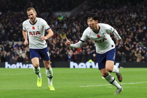 Despite Heung Min Son's goal, Tottenham's run of poor fortune continued today