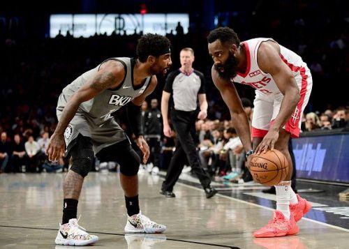 Houston Rockets v Brooklyn Nets Harden is again an MVP candidate