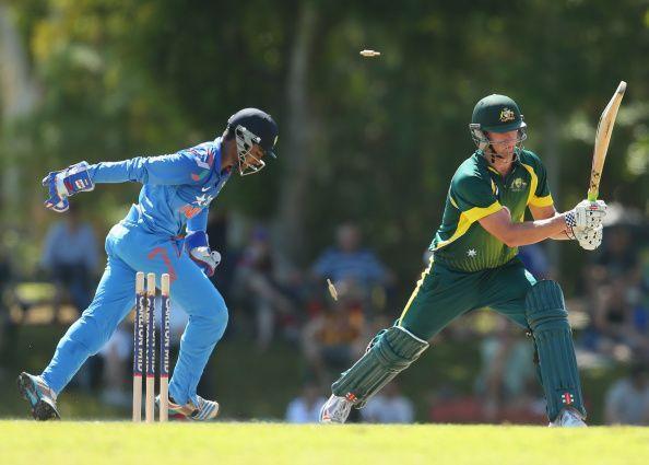 Sanju Samson keeping wickets
