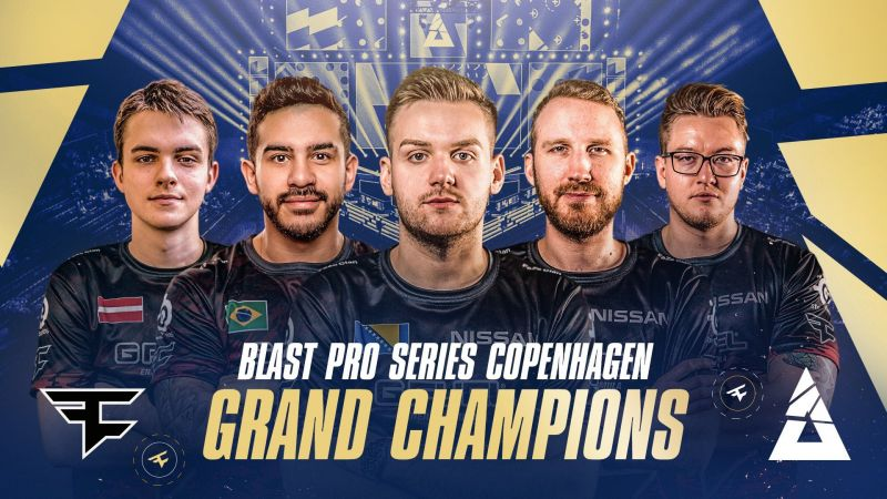 FaZe Clan triumphed over NiP 2-0 to pick up the trophy