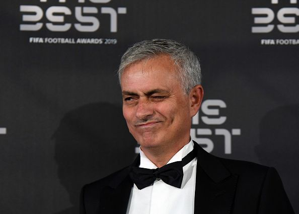 Jose Mourinho is back in the hot seat, this time with Tottenham Hotspur