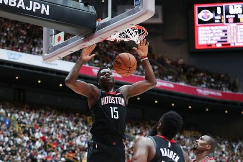 Clint Capela has played a big role in Houston's recent success