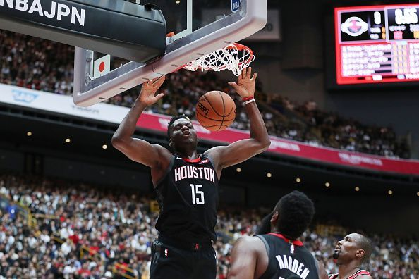 Clint Capela has played a big role in Houston