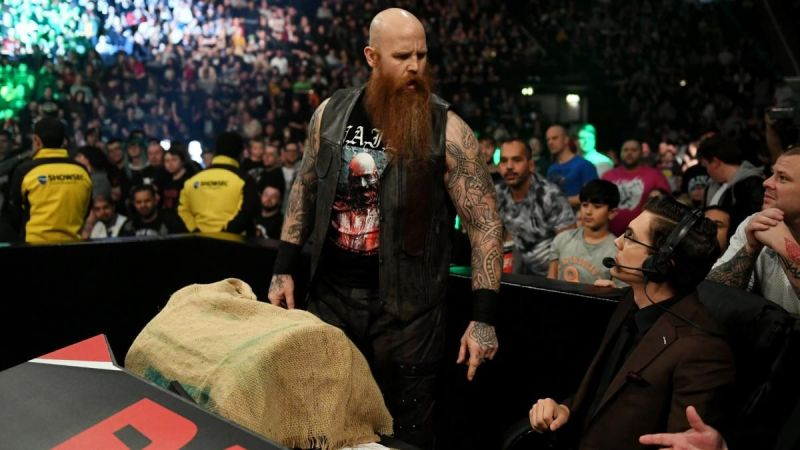 The mystery deepens with every passing day on WWE RAW