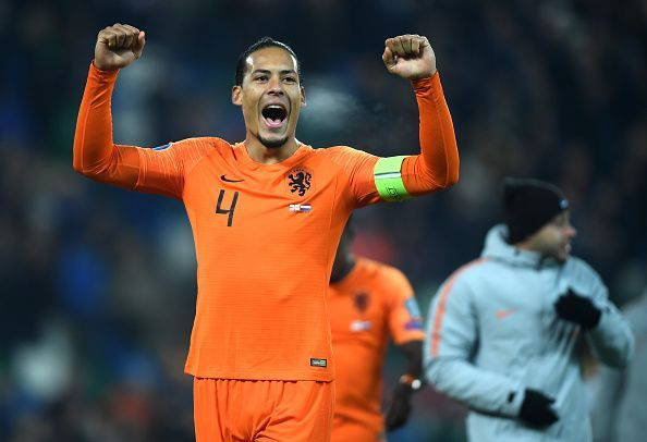 Virgil van Dijk guided the Dutch to the 2020 European Championship after missing out on the last edition