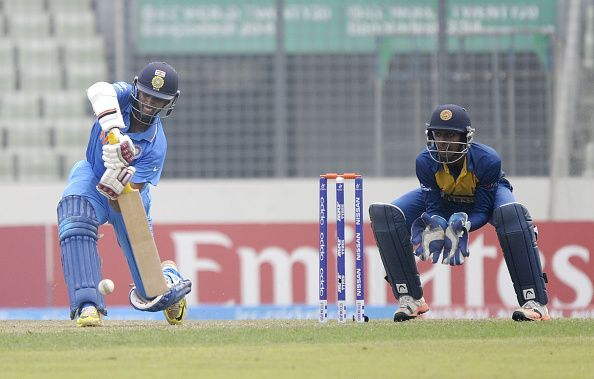 Washington Sundar hit a fifty for Tamil Nadu